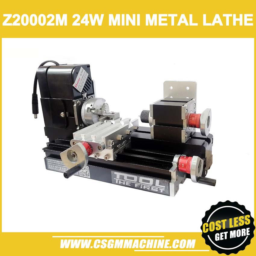 Z20002M 24W Metal mini Lathe 24W 20000rpm didactical metal lathe machine