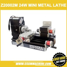 Z20002M 24W Metalen Mini Draaibank//24W,20000Rpm Didactical Metalen Draaibank Machine