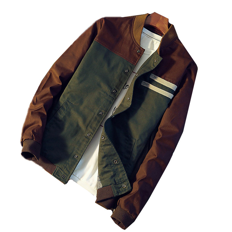TG6404 Baratos por atacado 2018 nova cultivar a moralidade parágrafo curto gola da jaqueta masculina uniforme de beisebol de correspondência de cores