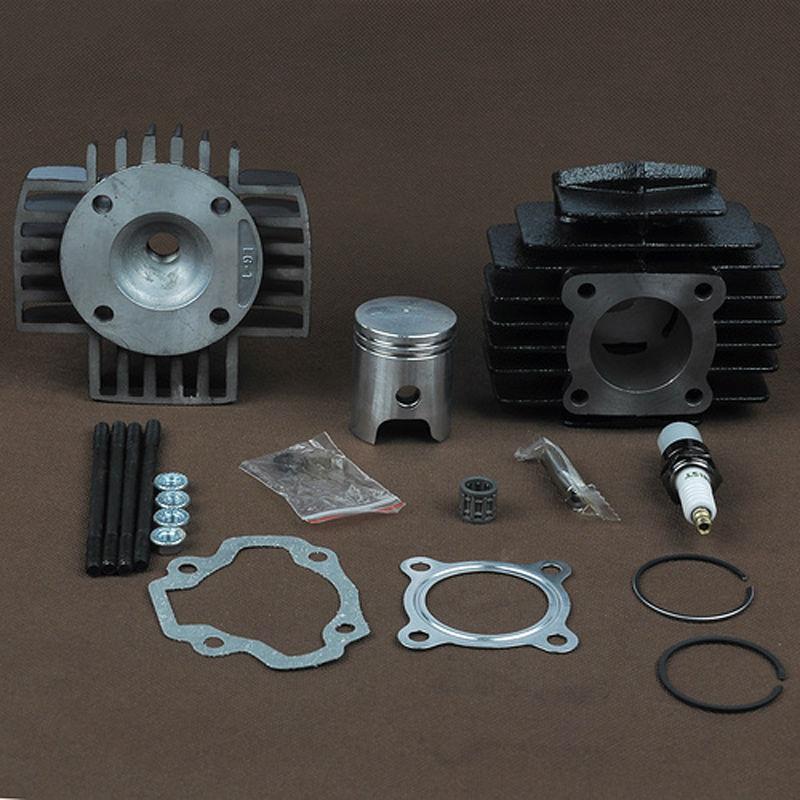 Cylinder Piston Gasket sets For YAMAHA PW 50 PW50 Y-Zinger (1981 - 2009) & QT50 Yamahopper (1979 - 1987)