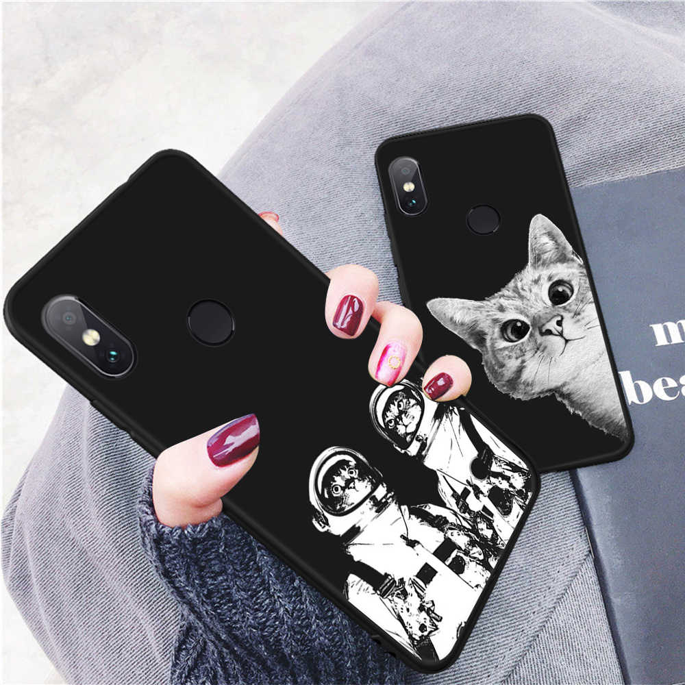電話ケース Xiaomi Redmi 4A 4 × 5 プラス 5A 6 6A 6 プロノート 4 4 × 5 6 プロソフト TPU バックカバーケース Xiaomi Redmi 注 6 プロ