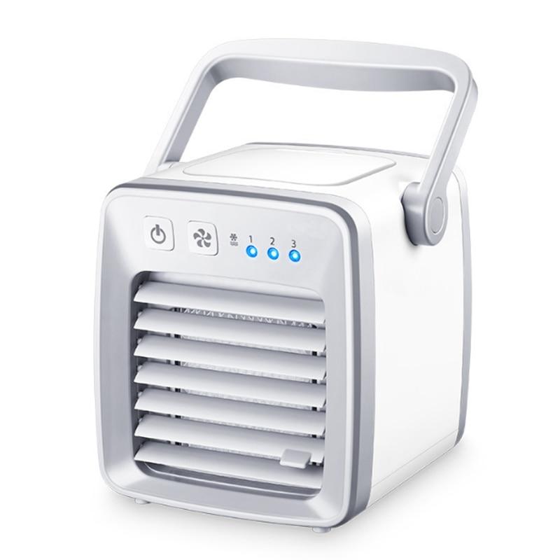 USB Air Cooler Fan evapolar usb ventilator Portable Desk Fan Mini Conditioner Device artic air Cool Soothing Wind HomeOffice (4)