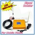 Display lcd! Gsm 900 MHz DCS 1800 MHz Dual Band telefone celular repetidor de sinal amplificador de sinal de reforço de sinal 2 G 4 G com antena