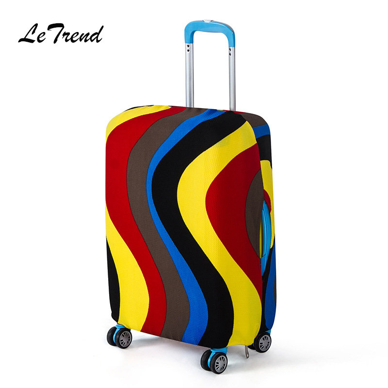LeTrend Hot Sale Originality Rolling Luggage Cover Fashion Trolley Wheel Suitcase Cover Suitable for 18-28 inch Travel Duffle hot sale fashion 1set diamond cutting wheel lx 3050