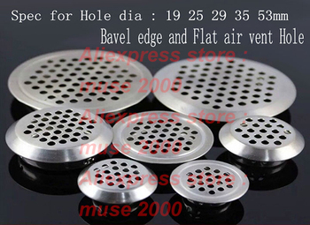 19 25 29 35 53mm steel Cabinet  air vent water leaker washing table counter Carpet Steamers ventilation perforation round louver