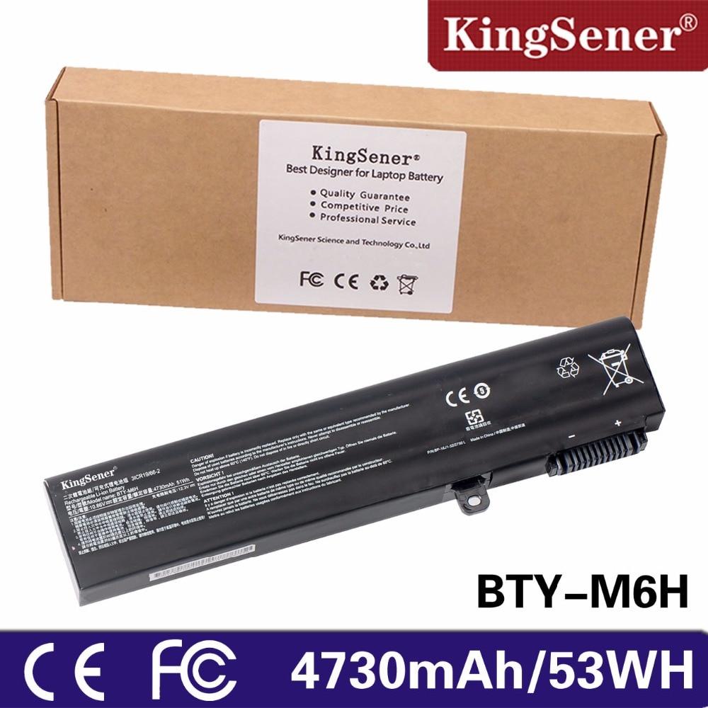 KingSener Laptop battery BTY-M6H For MSI GL62M GL72 GP62 GP62MVR GP72 GE62 GE72 MS-16J1 MS-16J2 MS-16GF 3ICR19/65-2 3ICR19/66-2 аккумулятор для ноутбука oem msi bty l74 bty l75 ms 1682 91nms17ld4su1 957 173xxp 101 a6000