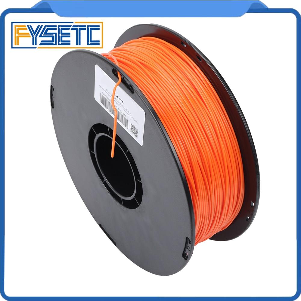 1.75mm 1kg/2.2lbs PETG Filament Top Quality Orange Color Printing Materials 1.75 PETG Filament VS ABS/PLA For 3D Printer/3D Pen цена