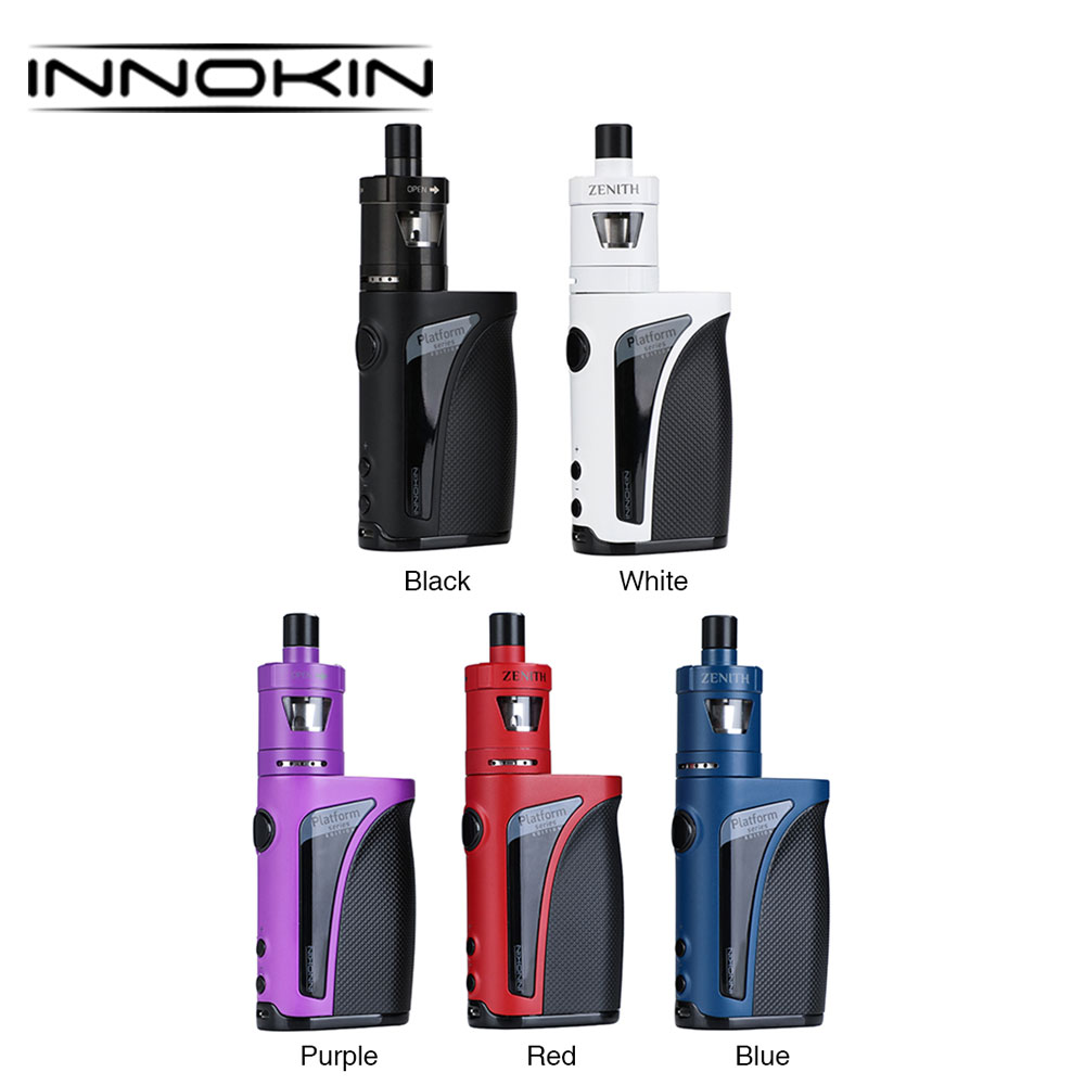 100% Original Innokin Kroma-A 75W TC Kit 2000mAh With 4ml/2ml Zenith Atomizer & 75W Max Power Kroma-A MOD E-cigarettes Vape Kit