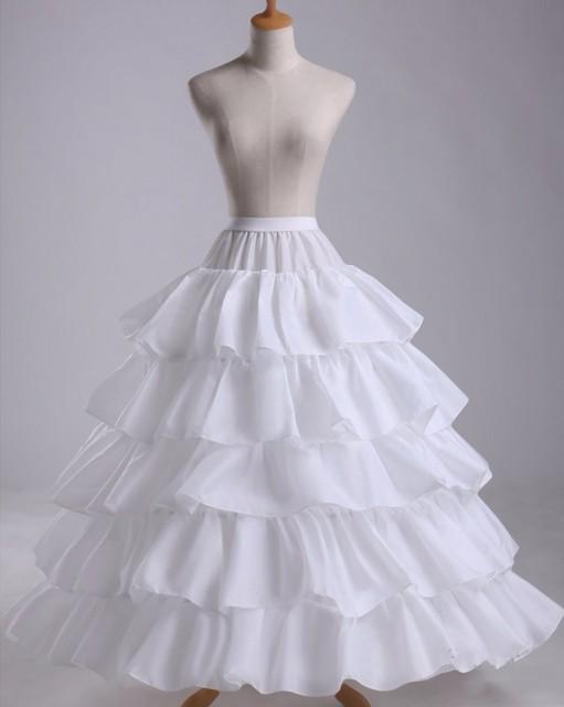 0438edaf5b03 Cheap Hoop Petticoat for Wedding Dress underskirt jupon crinoline enaguas  de falda jupon cerceau mariage Wedding