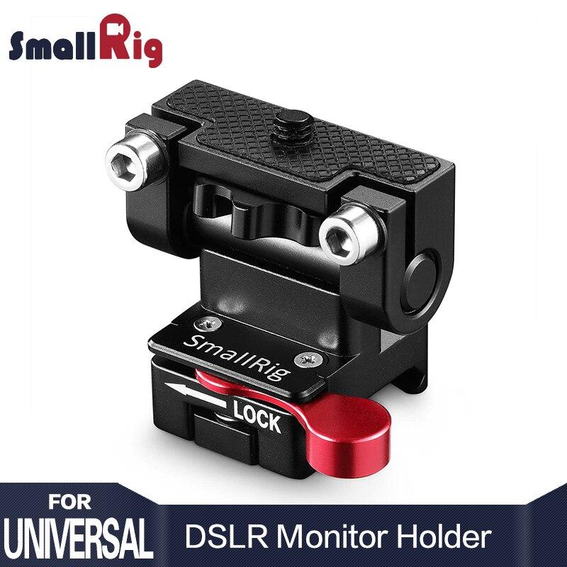 SmallRig двойной камера крепление для электронного видоискателя с НАТО зажим Quick Release регулируемый держатели мониторов для follow focus