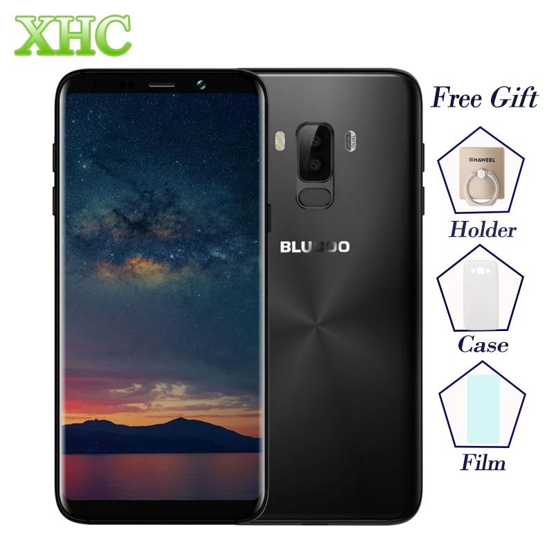 4G BLUBOO S8 Plus Smartphones 18:9 6,0 ''Bildschirm MTK6750T Octa-core 4 GB RAM 64 GB ROM Android 7.0 5MP + 13MP Dual SIM Handys