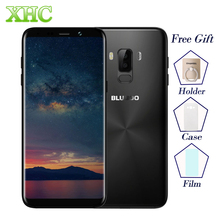 "4G BLUBOO S8 Plus Smartphones 18:9 6.0"" Screen MTK6750T Octa Core 4GB RAM 64GB ROM Android 7.0 5MP+13MP Dual SIM Mobile Phones"