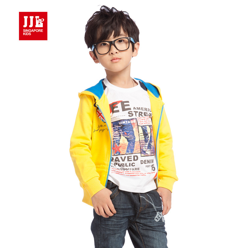 Boys outwear coat spring new arrival 2014 kids clothing free shipping wholesale kids clothing