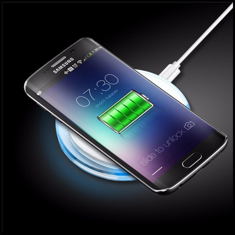 wireless charger for samsung galaxy s8 mobile phone. Black Bedroom Furniture Sets. Home Design Ideas