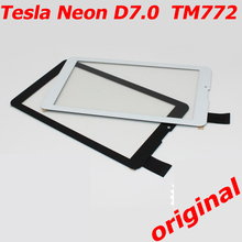 Free Shipping Touch Screen for Tesla Neon D7.0 TM772 Touchscreen External Panel Glass Sensor 7.0