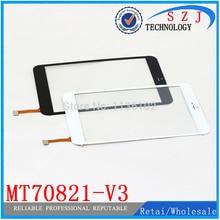 "Nuevo 7.85 ""pulgadas tablet case para RoverPad Aire 7.85 3G Tablet MT70821-V3 panel de la pantalla táctil de cristal digitalizador reemplazo"