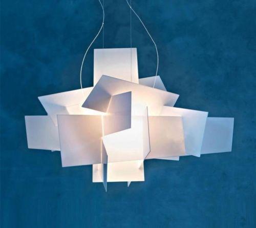 Foscarini Big Bang Suspension Pendant Light Stacking Acrylic Lamps Home Decor D65CM /91CM E27 LED Bulb CP44 modern big bang suspension pendant lights stacking acrylic lamps home decor d65cm 91cm light fixture e27 bulb lighting for bar