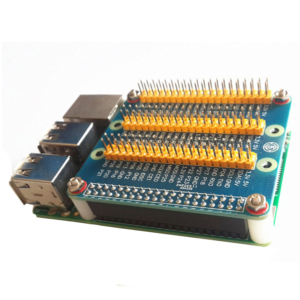 Durable Practical Professional For Raspberry Pi 3 Expansion Board With Screws GPIO Replacement Component Storage Accessories