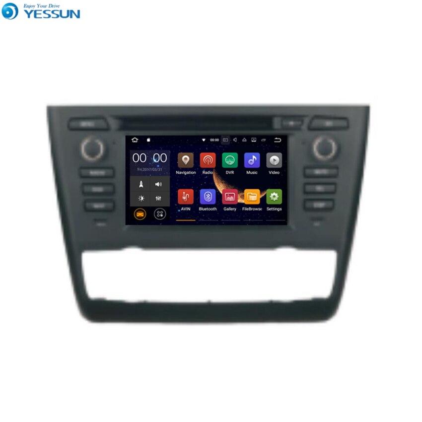 YESSUN pour BMW 1 E81/E82/E87/E88 Android voiture GPS Navigation lecteur DVD multimédia Audio vidéo Radio multi-écran tactile