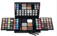 ISMINE 78 Màu Trang Điểm Eyeshadow Palette Powder Blush Bóng Mắt Hỗn Hợp Tạo Nên Palette 2 Lớp Mỹ Phẩm Kit