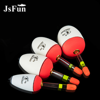 JSFUN 30PCS EVA Fishing Float 10 60g Luminous Light Sticks Hard Tail Belly Floats Night Fishing