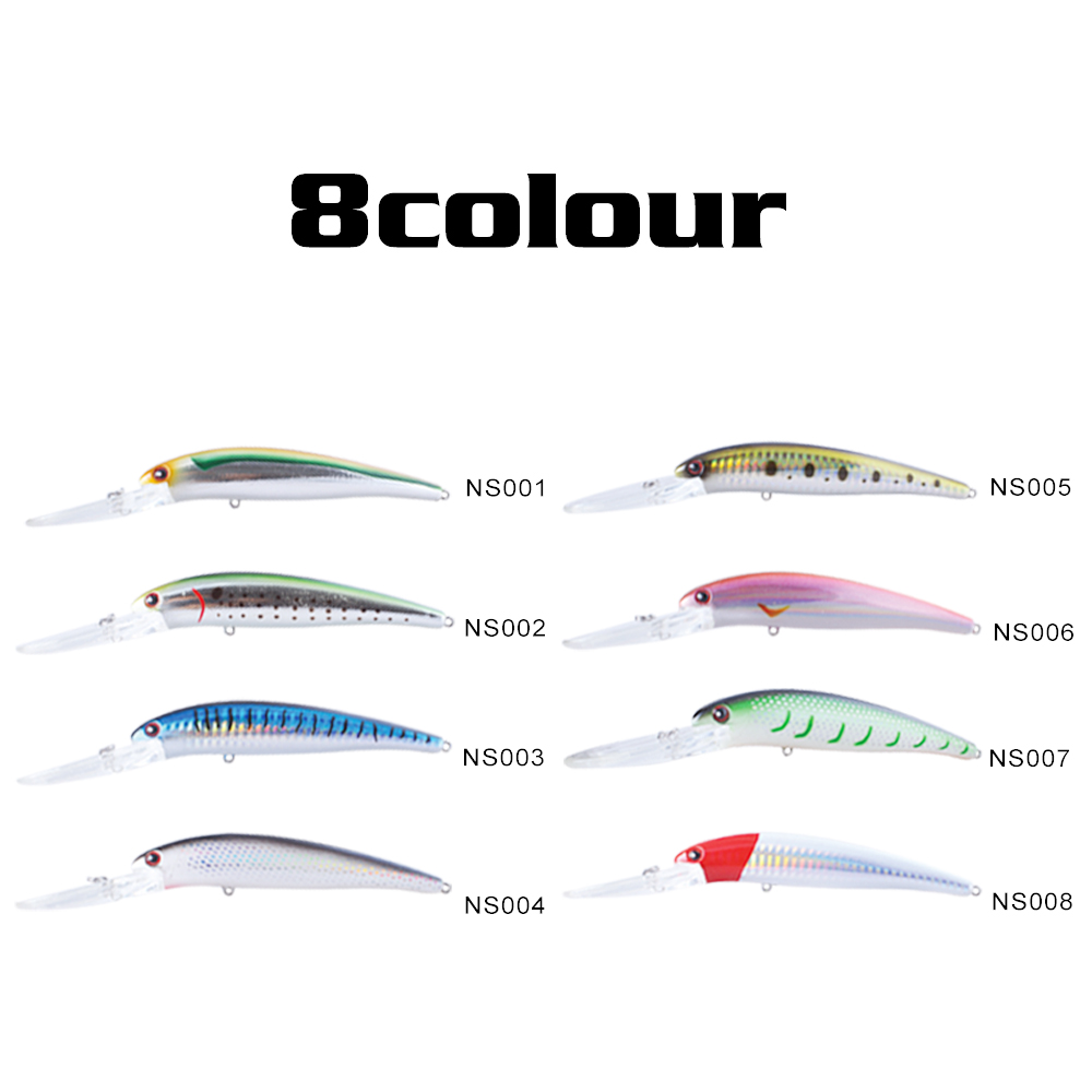 NOEBY-115mm-19g-Minnow-NBL9240-Fishing-Lure-Floating-1-8-3-6m-Isca-Artificial-Su-Pesca (4)