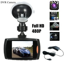 Авто Видеорегистраторы для автомобилей 2.5in TFT ЖК-дисплей Камера регистраторы видео Регистраторы G-Сенсор Ночное видение 128 М карты памяти бесплатно