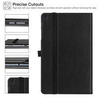 """galaxy tab BOZHUORUI case for Samsung Galaxy Tab A 10.1""""2019 tablet SM-T510 SM-T515 PU Leather Stand Hand Strap Business casual cover case (4)"""