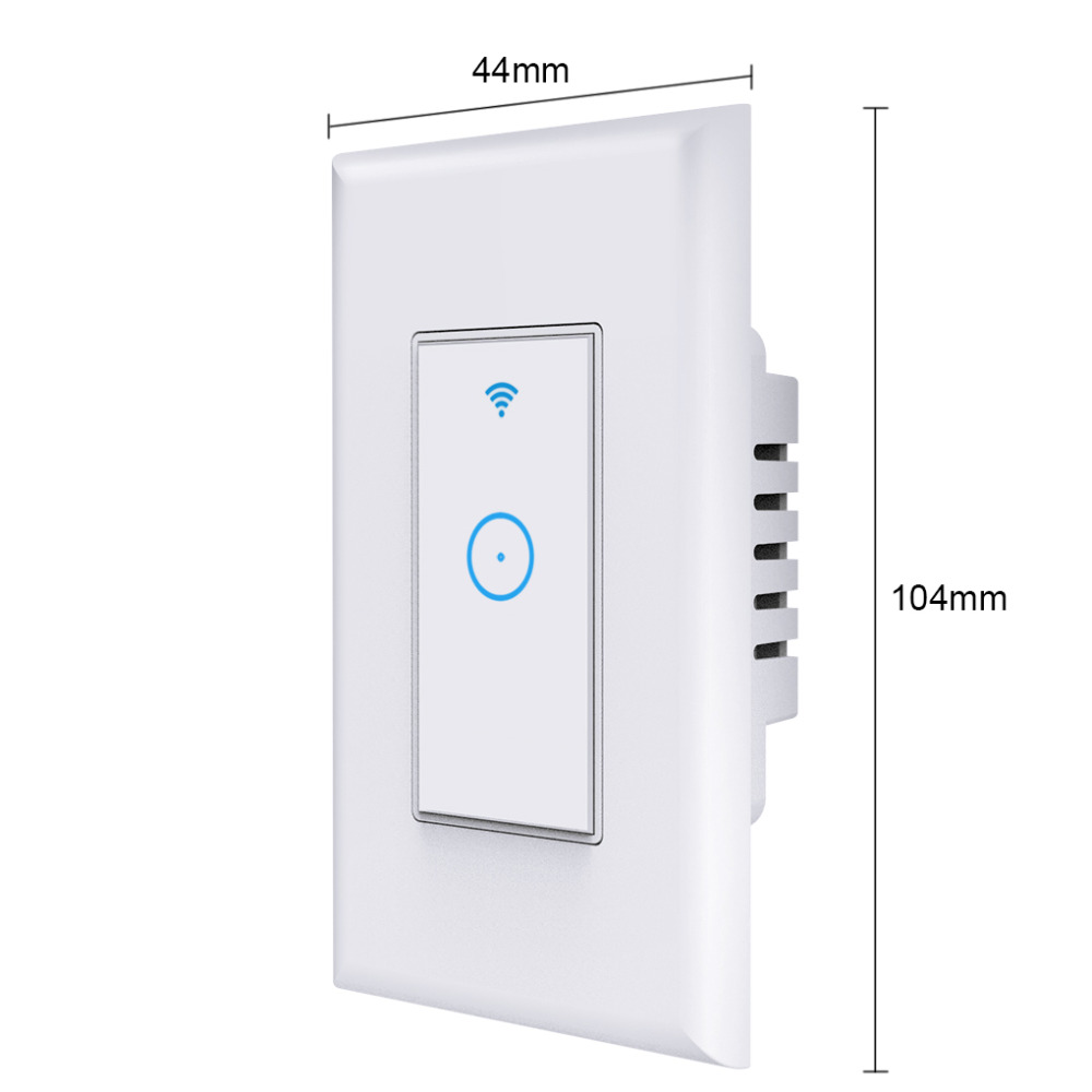 Image 4 - WIFI Wireless Remote Control Switch For AppUS Standard Plug Smart Home Wall Light Switch 1 Gang Work With Google Home-in Remote Controls from Consumer Electronics