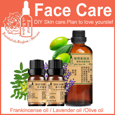 100% Pure Plant Essential Oils Frankincense / Lavender / Olive Oil 10ml Turkey Imports Wrinkle Firming Whitening Skin Care SET 100% pure plant herbal medicine oils fructus cnidii herbal oil 100ml essential oils traditional chinese medicine oil