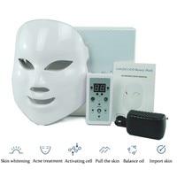 Beauty Salon Light Electric LED Facial Mask Home Use Skin Skin Rejuvenation Anti Acne Wrinkle Removal