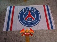 paris saint germain Soccer Football Club flag,paris saint germain Soccer Football Club banner,90*150CM,free shipping