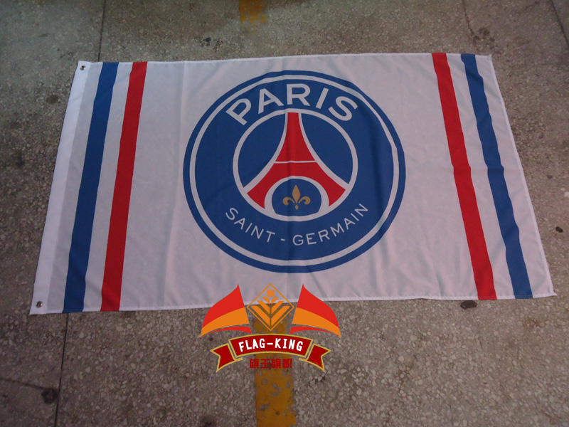 paris saint germain Soccer Football Club flag,paris saint germain Soccer Football Club banner,90*150CM,free shipping
