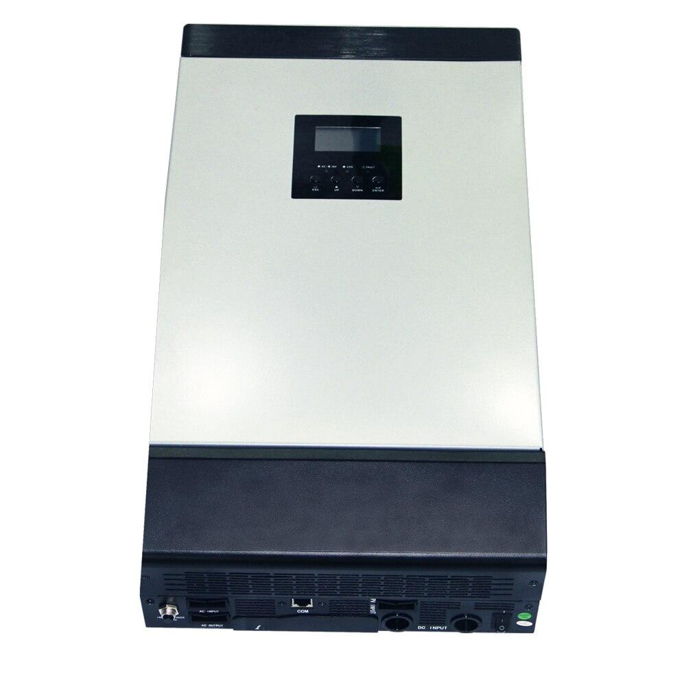 3KVA Reine Sinus Welle Hybrid Inverter 24V 220V Gebaut-in 60A MPPT PV Laderegler und AC ladegerät für Den Heimgebrauch MPS-3K-60A