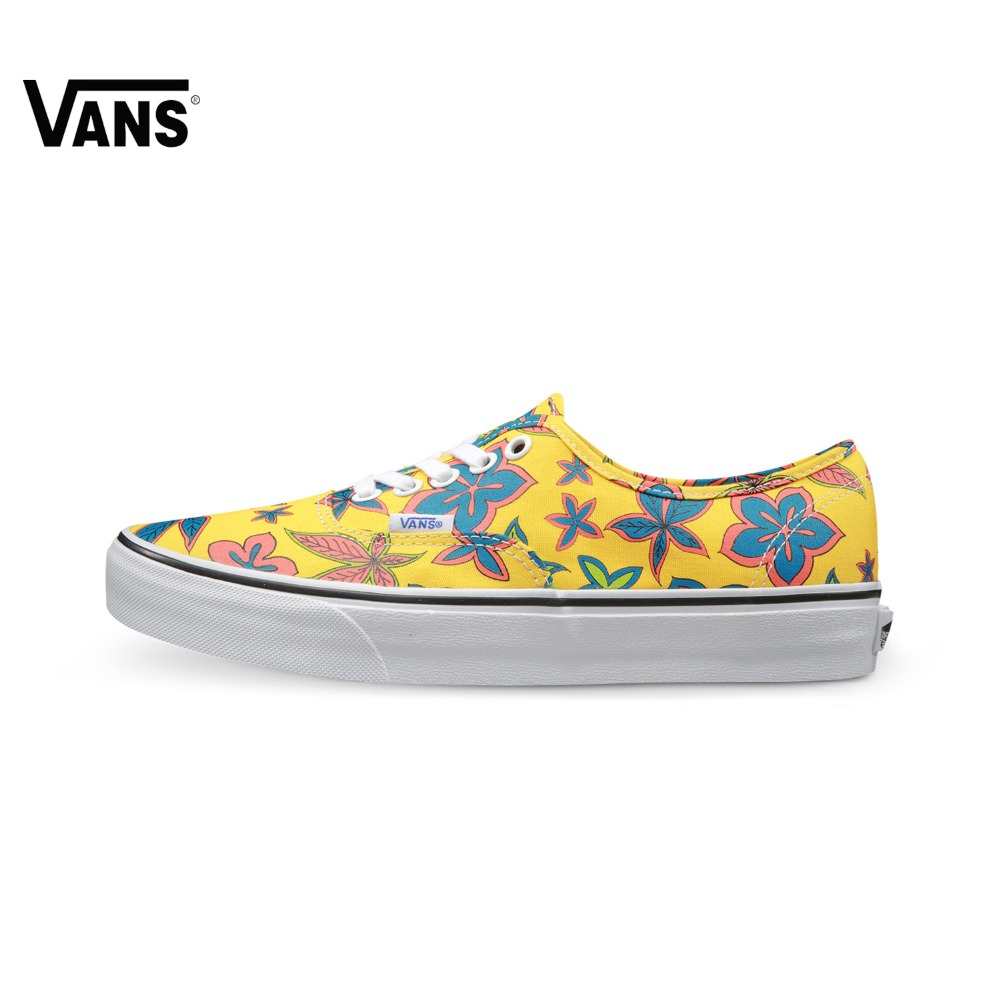 Original Vans Classic Vans Colourful Unisex Skateboarding Shoes Canvas Shoes Sneakers Sports Shoes free shipping