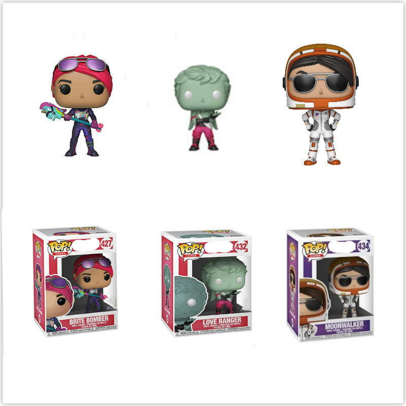 Funko POP Fortnight GAME Fortnited Battle Royale REX Action Figure Collectible Toys For Children Christmas Gift