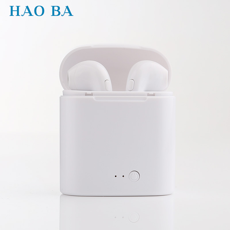 business Bluetooth earphones wireless stereo headphones headset and power bank with microphone handsfree calls for Phone iPhone hestia i8 bluetooth headset with 900 mah charge box wireless earphones handsfree headphones with microphone for iphone xiaomi