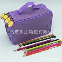 72 карандаш эскиз цветная щетка для занавесок пенал пористые канцелярские товары оптом