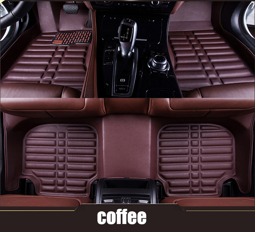 kalaisike Custom car floor mats for Porsche all models 911 panamera cayman cayenne car accessorie car styling auto floor mat interior leather custom car styling auto floor mats