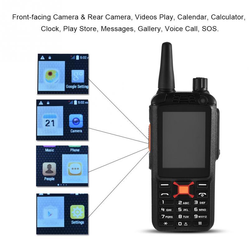 3500mAh 2.4 Inch Walkie Talkie SOS Rugged Android 4.4.2 3G Dual SIM Mobile Phone