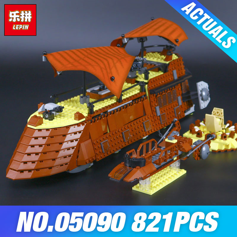 Jabba S Sail Barge Children Building Blocks Bricks Model