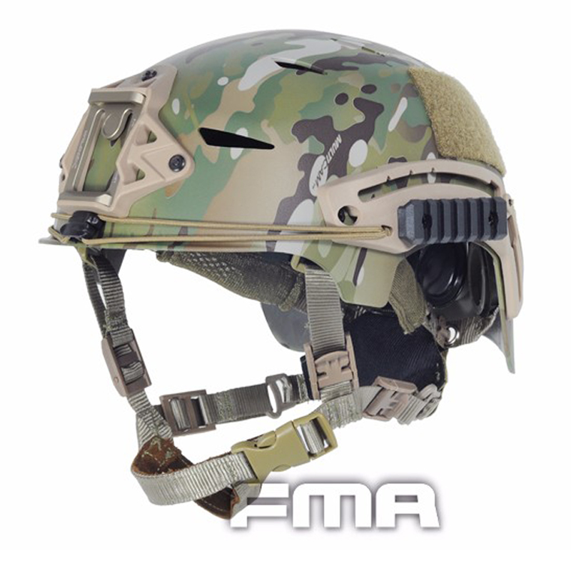 EXFIL Carbon Version Tactical Bump Helmet most popular head protection device Tactical liner systems For Airsoft Paintball fma maritime tactical helmet 1 1 aramid fiber version helmet fg m l