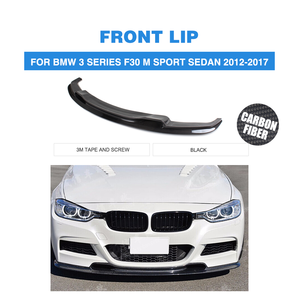 F30 3D style carbon fiber car carbon front lip for BMW,auto front spoiler fit for F30 M tech bumper(2012UP) 2007 bmw x5 spoiler