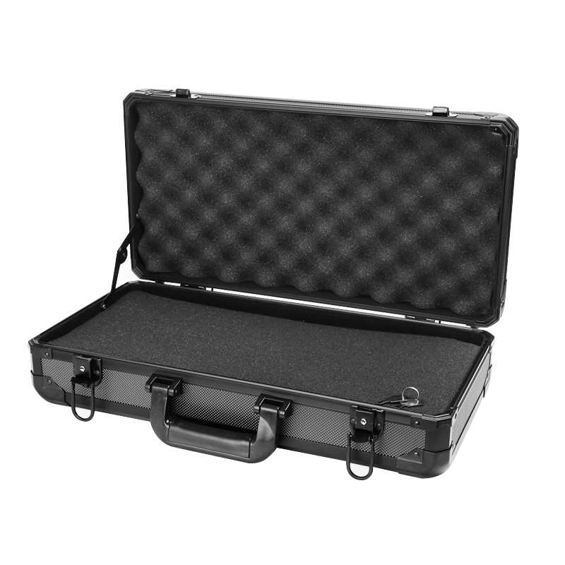Portable Aluminum Code Toolbox Instrument Equipment Box Safety Box Home Multifunction Large Medium Medium