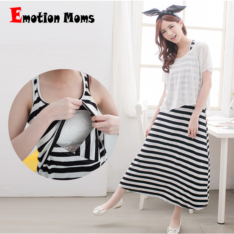 Emotion Moms Fashion Maternity Clothes Summer Dress ...