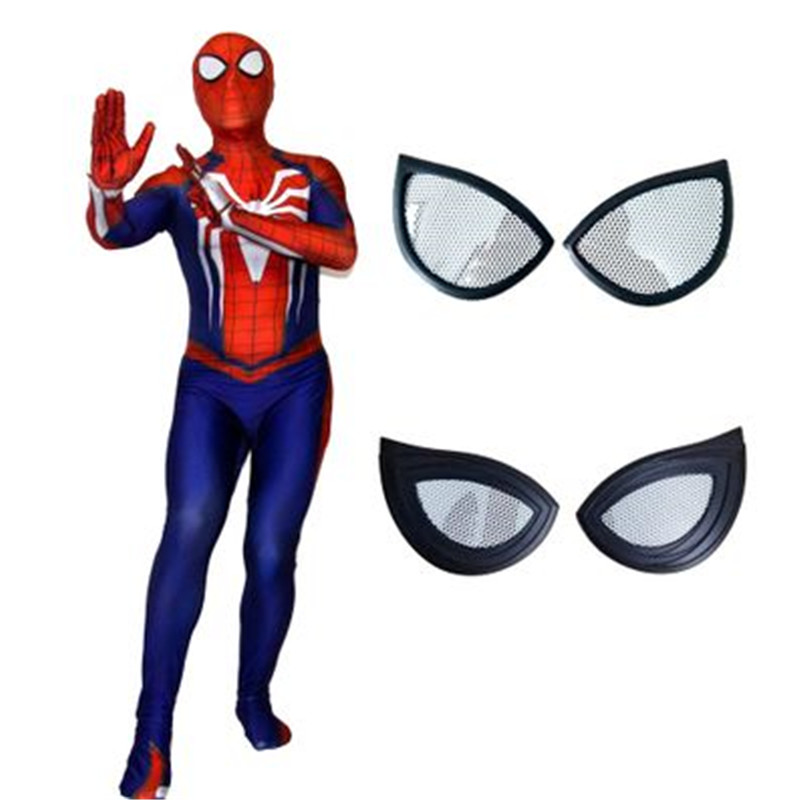 2018 High quality Anime Spider-Man:Homecoming Cosplay costume 3D print Lycra Zentai Jumpsuits Superhero Spider Man Bodysuit Suit