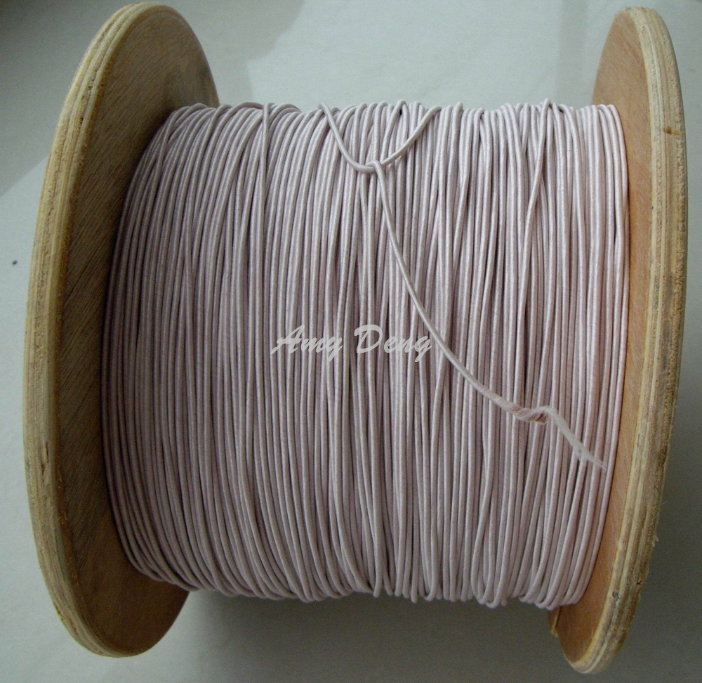 50meters/lot 0.1x160 Shares Its Antenna Litz Strands Of Wire According To The Sale Of Cotton Polyester Envelope Meters