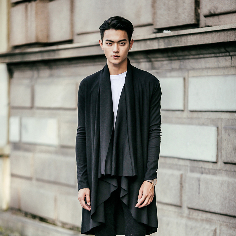 2015 Japan Men Gentlemans Batwing Wool Oversized Casual Poncho Coat cardigan  sweater Loose Cloak Cape Outwear Black Big Size|sweater clip|sweater  designs for boyssweater sale - AliExpress