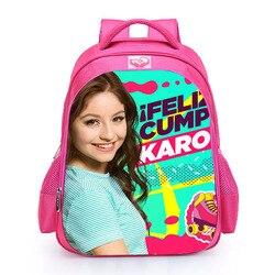 LUOBIWANG Soy Luna szkoły plecaki słynnej wykonane na zamówienie TV Show tornister dla nastolatek dziewczęca torba podróżna Plecak Szkolny 3