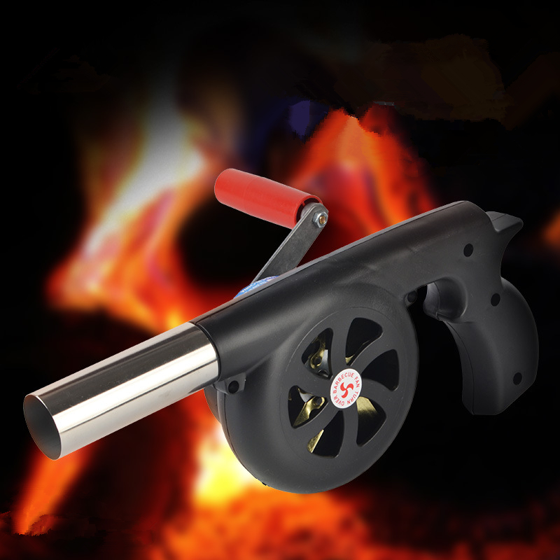 Image 5 - VILEAD 29 cm Length Outdoor Cooking Air Blower Hand Crank For BBQ Fire Bellows Tool for Picnic Camping stove accessories Fan-in Outdoor Stoves from Sports & Entertainment